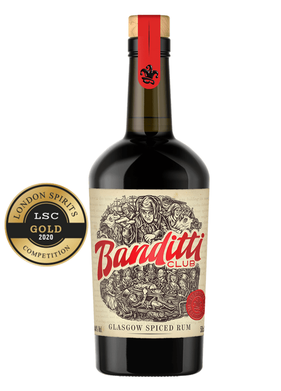 Banditti Club,Glasgow Spiced Rum 50cl