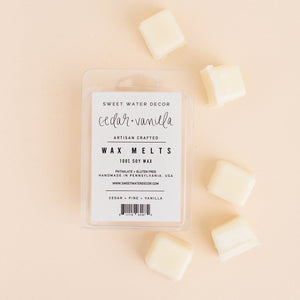 Cedar + Vanilla Wax Melts