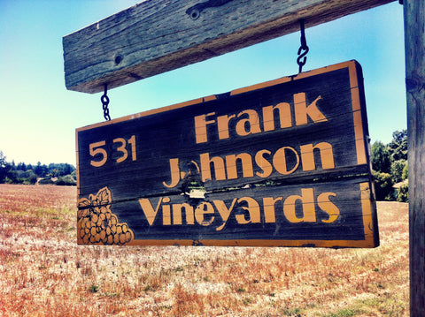 2015 Frank Johnson Vineyard Chardonnay