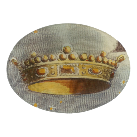 Crown Oval Platter by John Derian