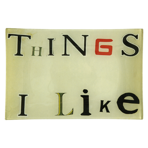 Things I Like Tray by John Derian