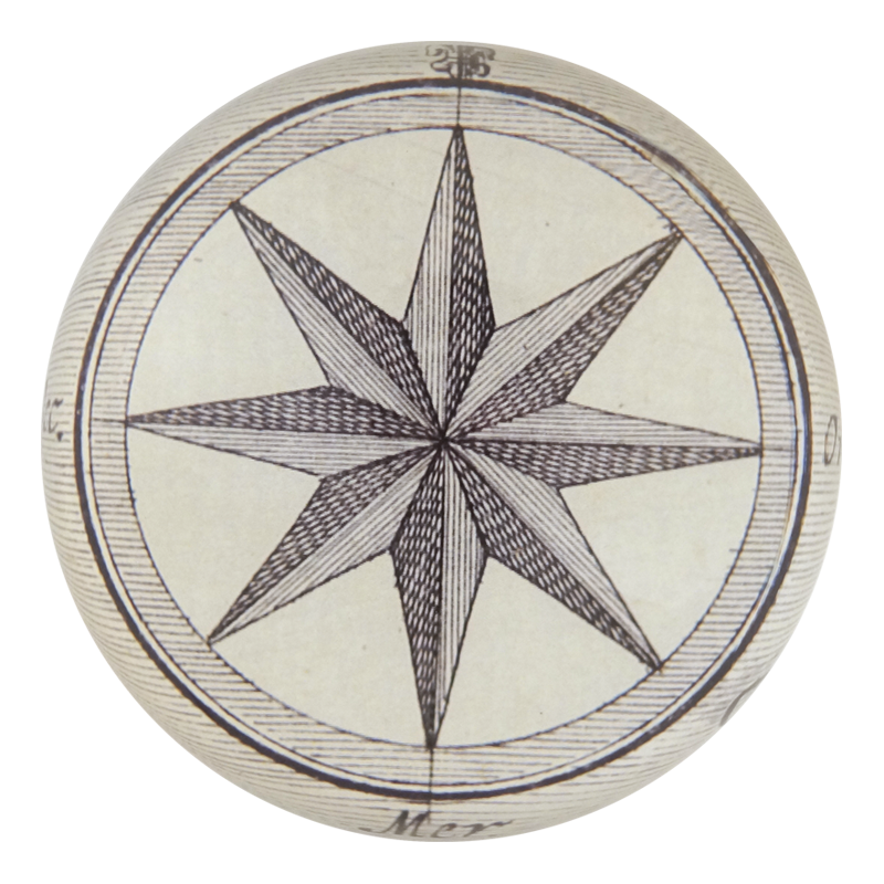 Compass Paperweight by John Derian