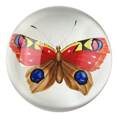 Red Butterfly Paperweight by John Derian