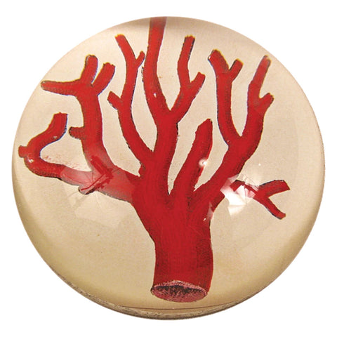Red Coral Paperweight by John Derian