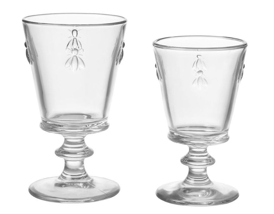 Bee Wine Glasses - Set of Four