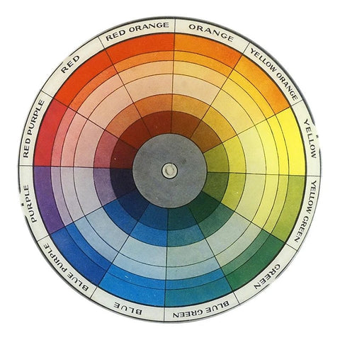 Colour Wheel Plate by John Derian