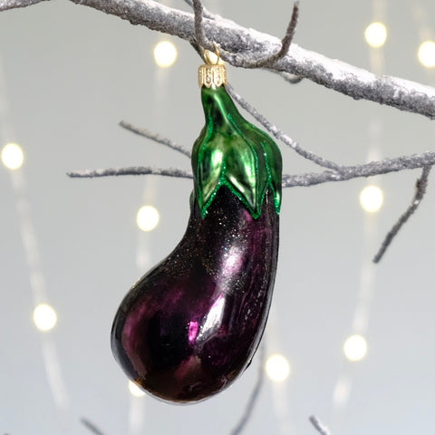 Aubergine Tree Bauble