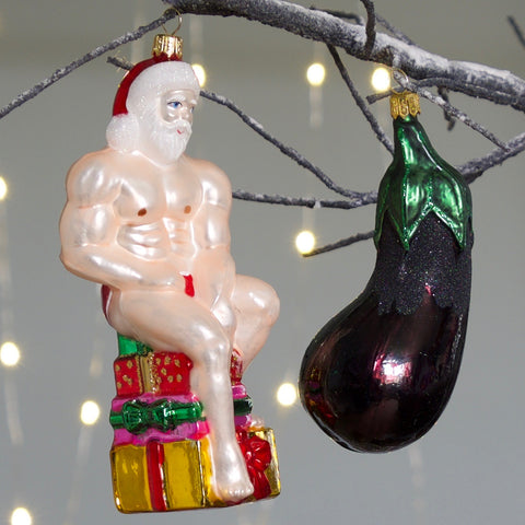 Sexy Santa Tree Decoration