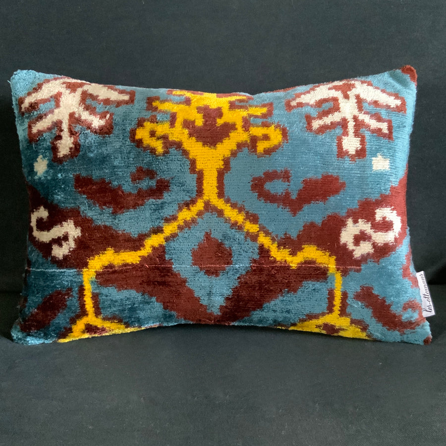 Silk Velvet Bolster Cushion