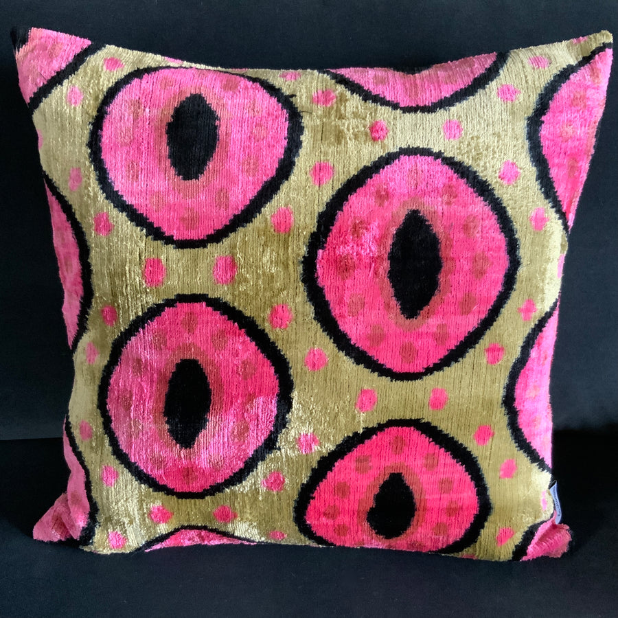 Giant Square Silk Velvet Cushion