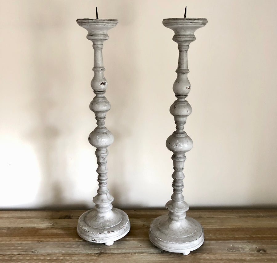 French Antique Candlesticks