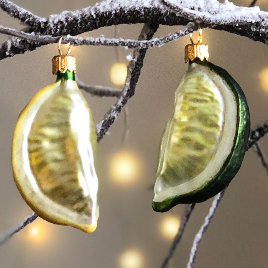 Lemon Wedge Tree Bauble