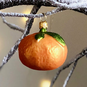 Clementine Tree Bauble Duo