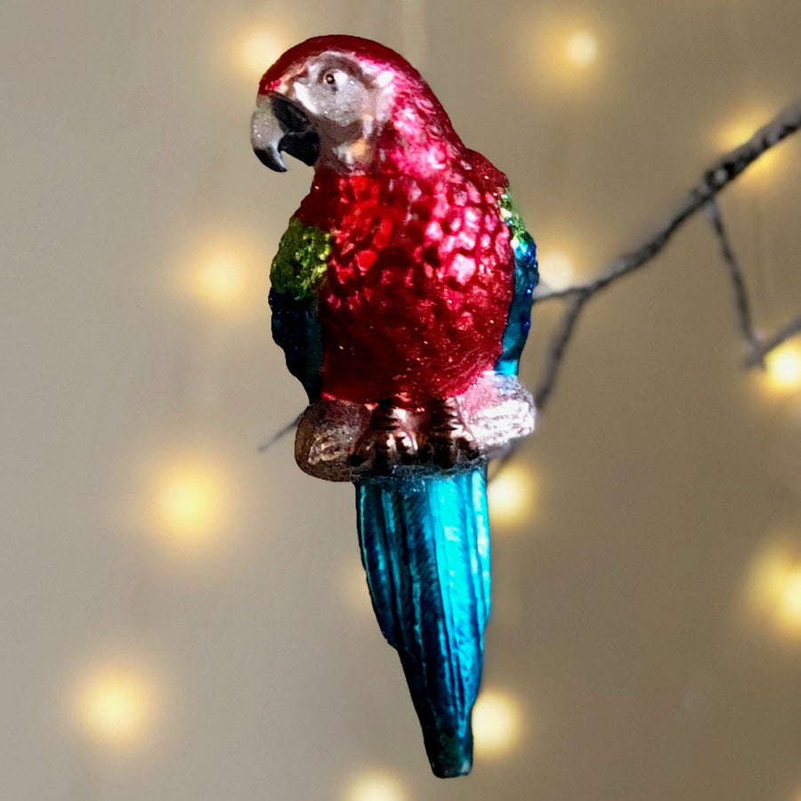 Parrot Tree Bauble