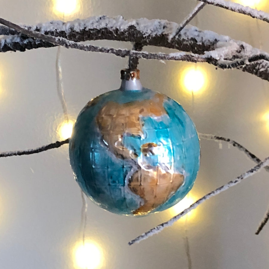 Vintage Glass Globe Decoration