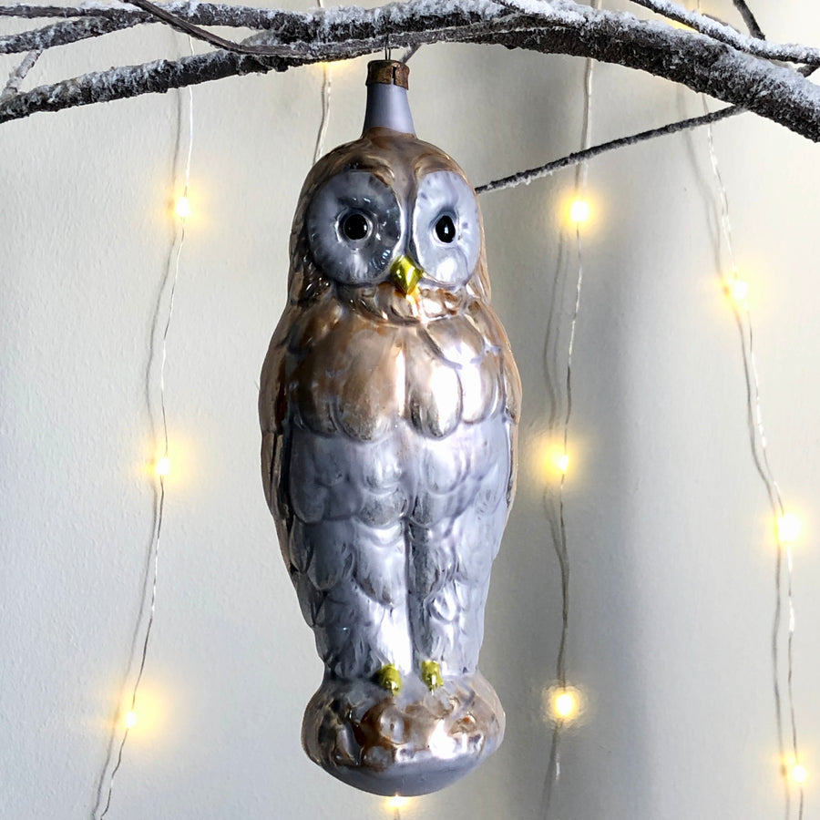 Vintage Owl Decoration
