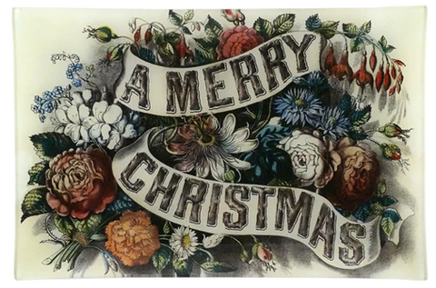 Merry Christmas Tray by John Derian