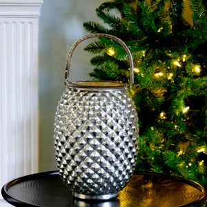 Silvered Pineapple Lantern