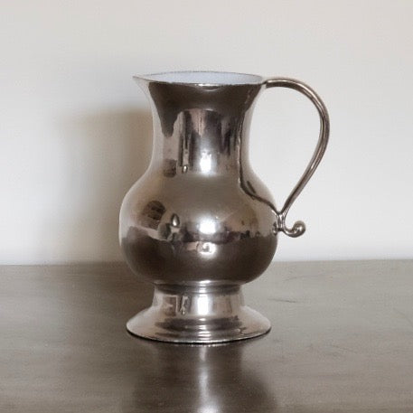 Colbert Platinum Pitcher by Astier de Villatte