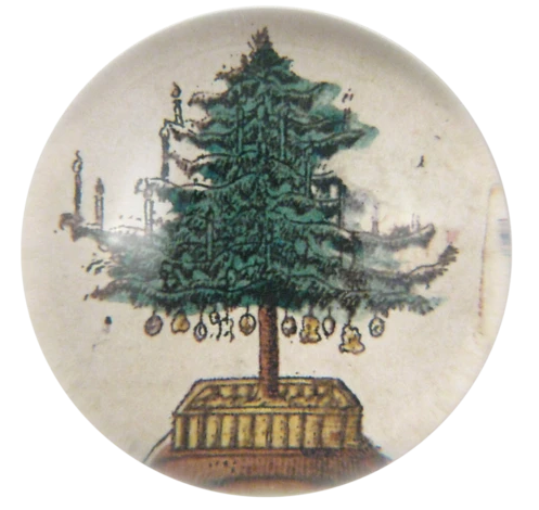 Christmas Tree Paperweight by John Derian