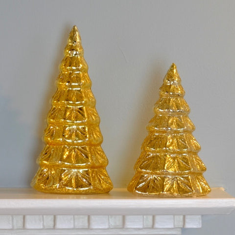 Gold Tree Lanterns