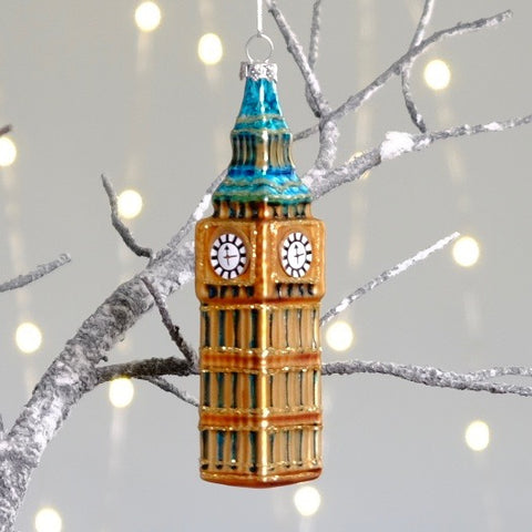 Big Ben Tree Decoration
