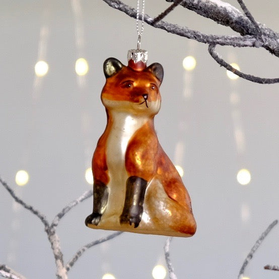 Red Fox Tree Bauble