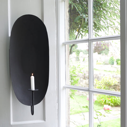Oval Light Sconce - Large