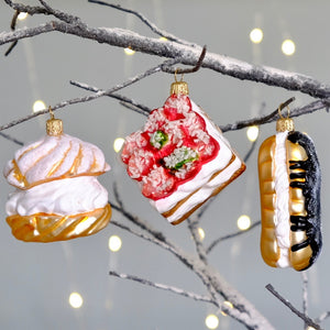 Patisserie Tree Bauble Collection