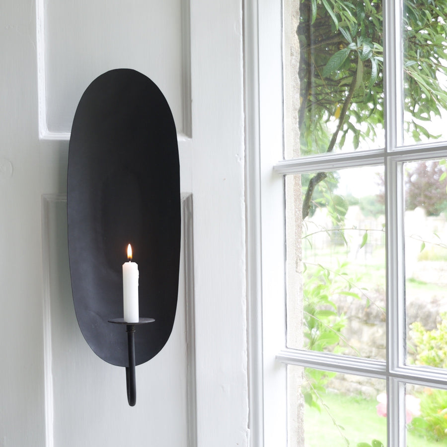 Oval Light Sconce - Medium
