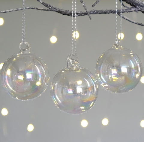 Soap Bubble Bauble Trio