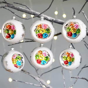 Vintage Rainbow Decorations Set