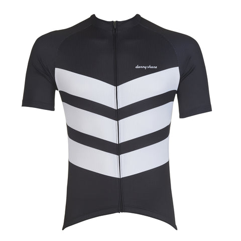 Aston Black Cycling Jersey