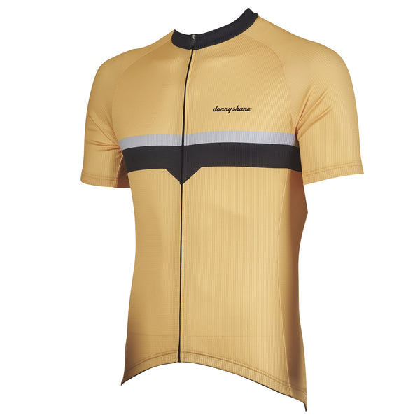Bolt Yellow Cycling Jersey