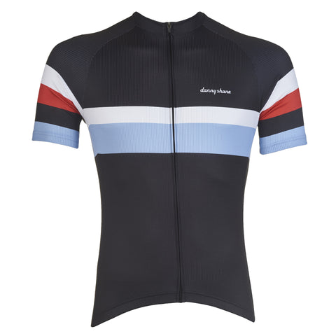 Rigby II Black Cycling Jersey