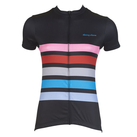 Women's Romer Black Cycling Jersey