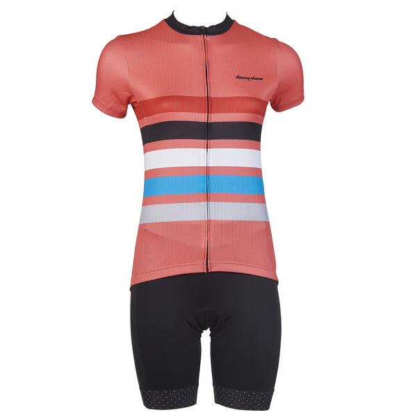 Women's Romer Coral Cycling Jersey