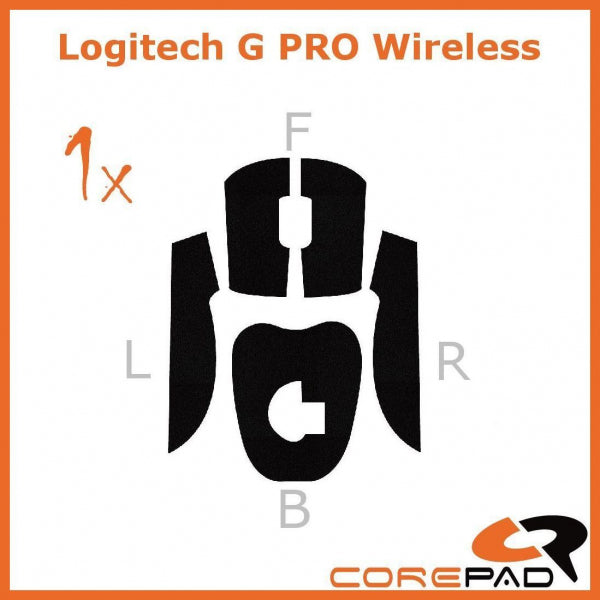Corepad Grips for Logitech G Pro Wireless