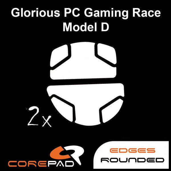 Corepad Skatez Mouse Feet for Glorious Model D