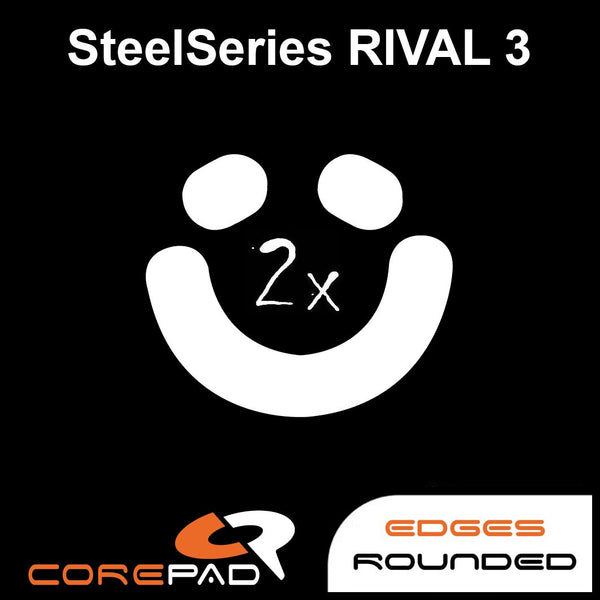 Corepad Skatez Mouse Feet for SteelSeries Rival 3