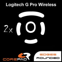 Corepad Skatez Mouse Feet for Logitech G Pro Wireless GPW