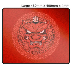 Tiger Gaming LongTeng Red Mouse Pad