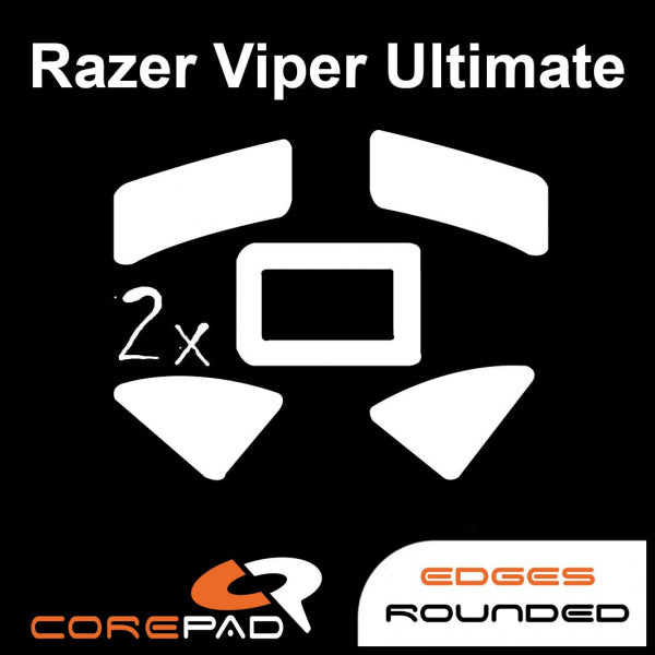 Corepad Skatez Mouse Feet for Razer Viper Ultimate (wireless)