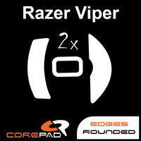 Corepad Skatez Mouse Feet for Razer Viper Wired