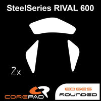 Corepad Skatez Mouse Feet for SteelSeries Rival 600 / Rival 650