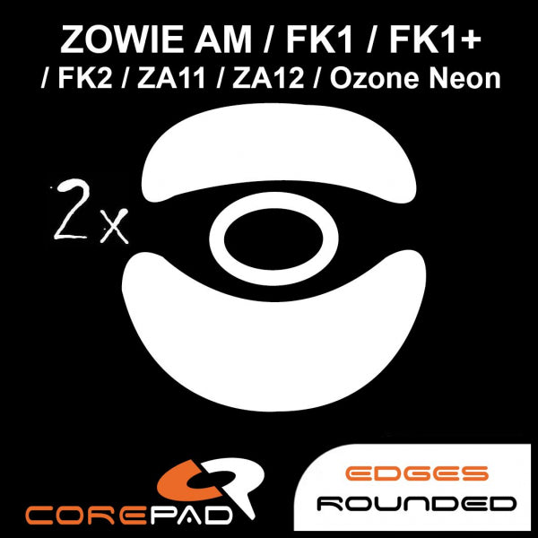 Corepad Skatez Mouse Feet for Zowie AM/FK1/FK1+/FK2/ZA11/ZA12