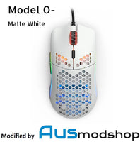 Glorious Model O- Matte White modified by Ausmodshop