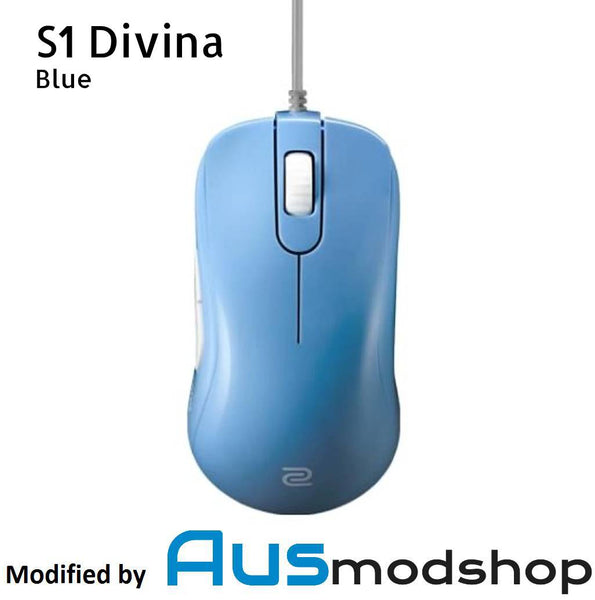 Zowie S1 Divina Blue modified by Ausmodshop