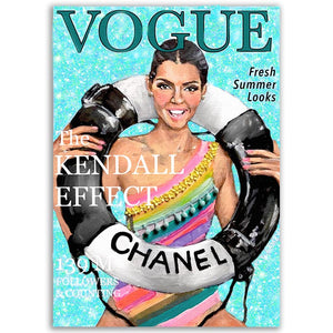 Kendall Jenner Vogue Cover Portrait