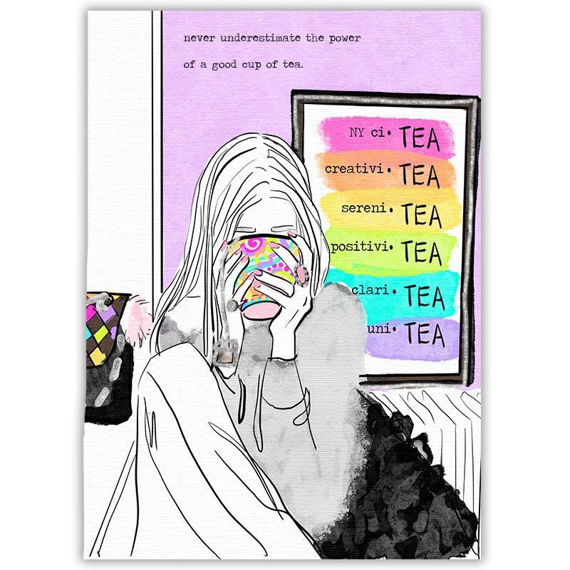 Never Underestimate The Power Of A Good Cup Of Tea